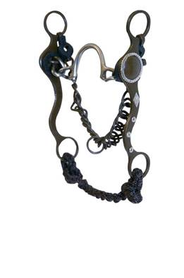 Roping Collection by Metalab Antique Ported Chain Bit