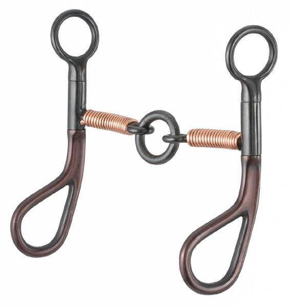 Kelly Silver Star Teardrop Lifesaver Snaffle