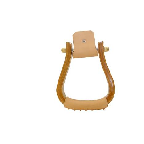 Metalab 2'' Wooden Visalia Stirrup