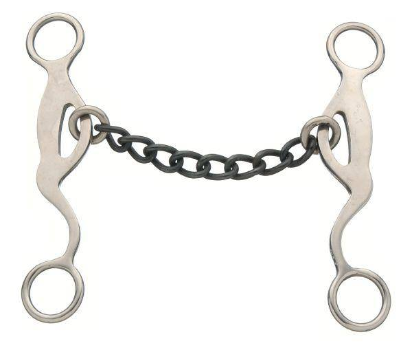 Kelly Silver Star Chain Mouth Gag Bit