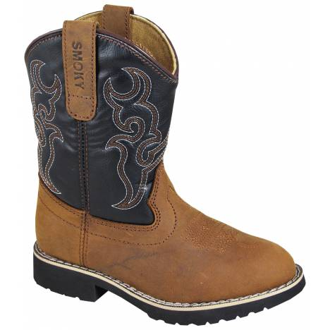 Smoky Mountain Childrens Randy Boots - Brown