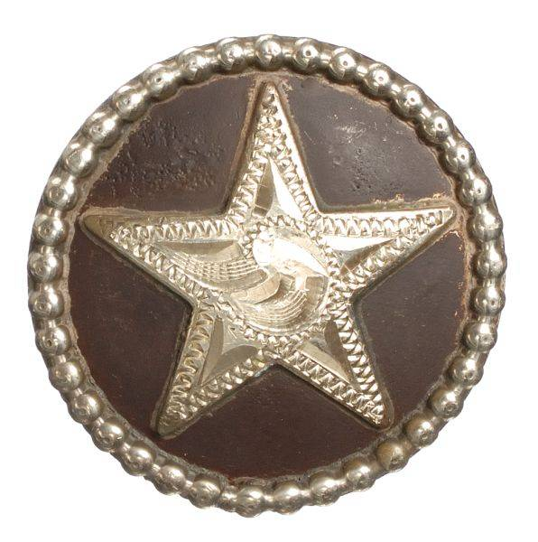 Star with Rope Edge Round Drawer Pull