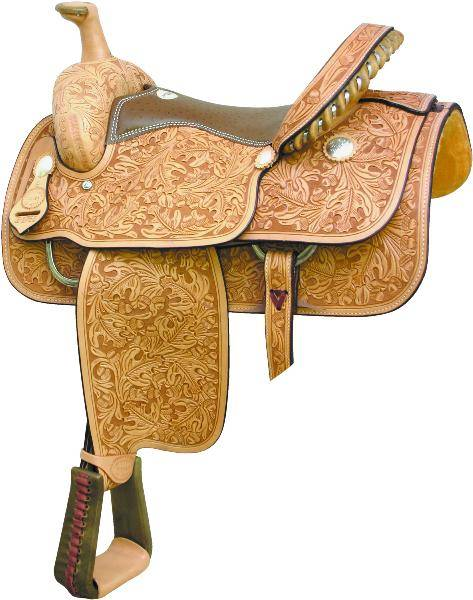 Billy Cook Saddlery Motes Oakleaf & Acorn Roper