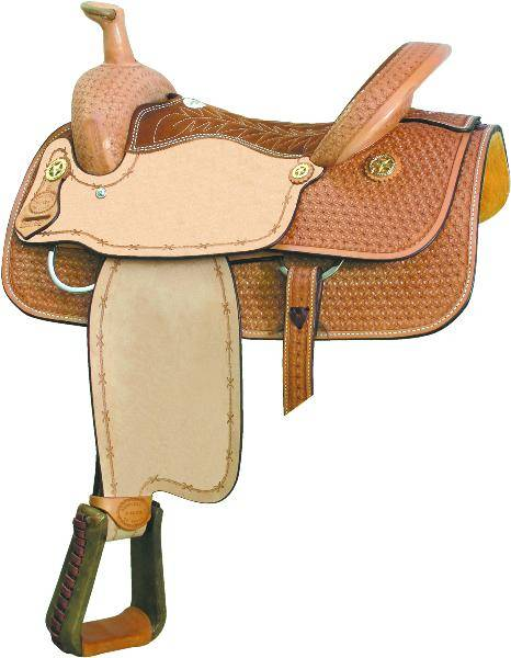 Billy Cook Saddlery Motes Snowflake Basket Roper