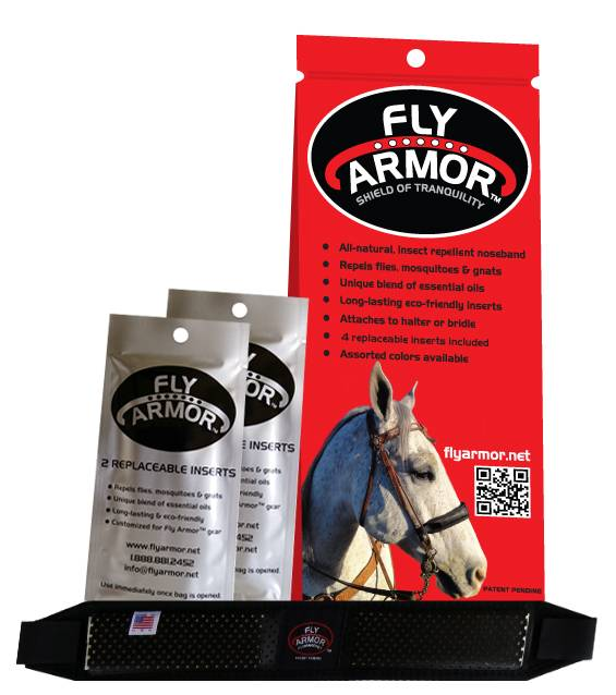 Fly Armor Deluxe Extra Strength Equine Noseband