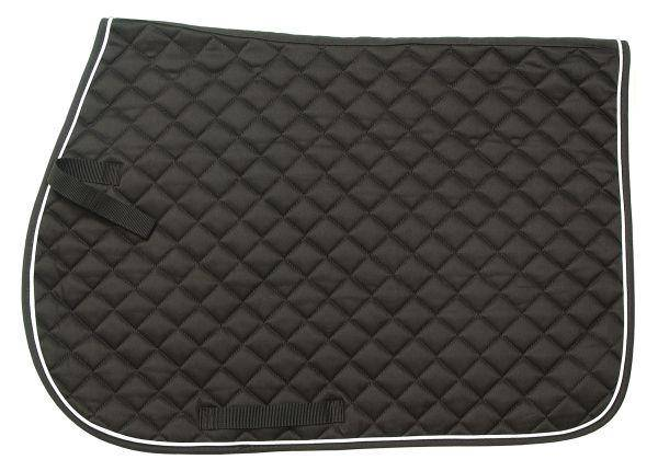 EquiRoyal Pony Square Quilted Cotton Comfort Saddle Pad