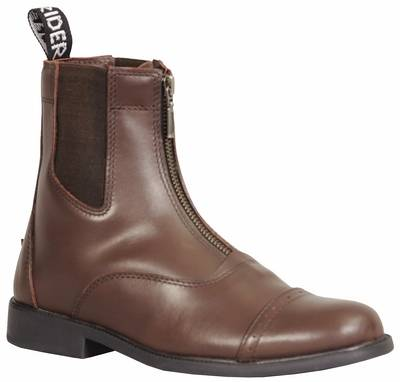TuffRider Baroque Zip Paddock Boots Ladies