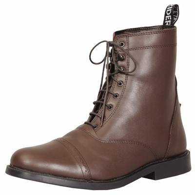TuffRider Ladies Baroque Laced Paddock Boots