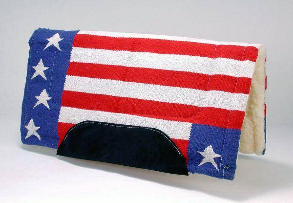 Tough-1 Stars & Stripes Saddle Pad