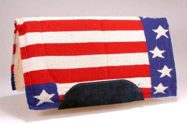 Tough-1 Stars & Stripes Saddle Blanket