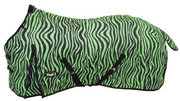 Tough-1 600D Turnout Blanket in Prints - Zebra