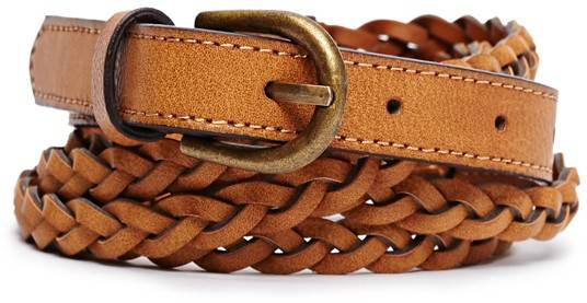 Double Braided Belt