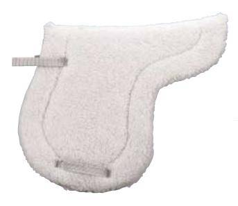 Weaver Shaped Fleece Saddle Pad