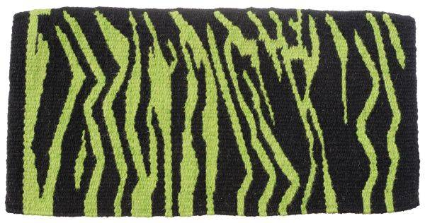 Tough-1 Wool Zebra Print Saddle Blanket