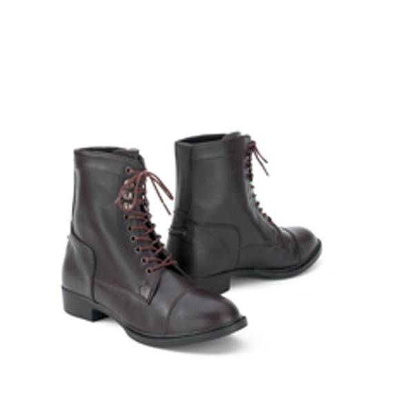 Millstone Ladies Synthetic Lace Paddock Boots
