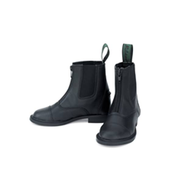 Millstone Kids Synthetic Zip Paddock Boots