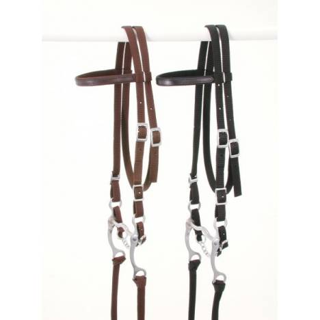 King Series Horse Nylon Browband Bridle