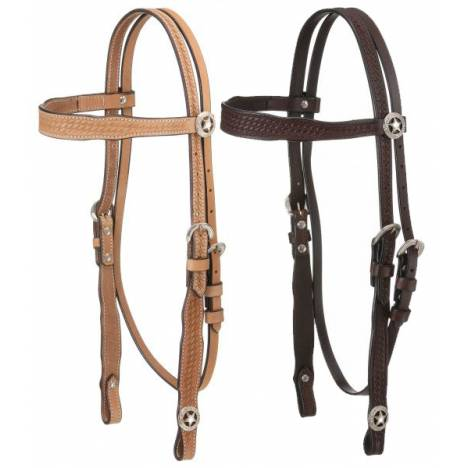 Royal King Square Cheek Browband Headstall