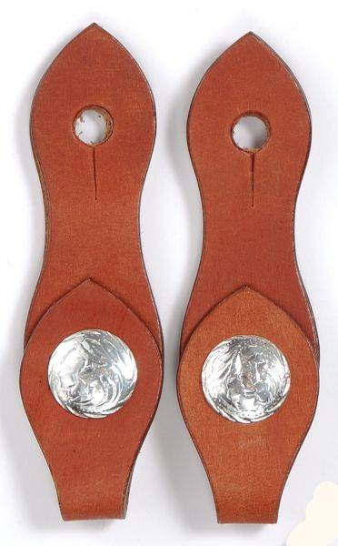 Royal King Silver Concho Slobber Strap