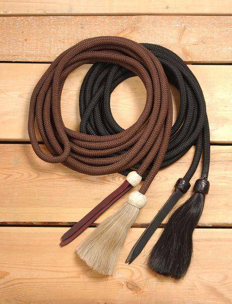 Royal King Braided Mecate Rope with Horsehair Tassel