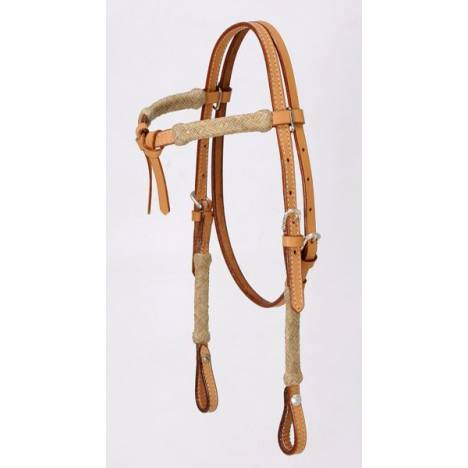 Royal King Miniatureature Rawhide Futurity Brow Headstall