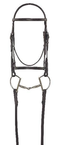 Camelot Quarter Horse Bridle with Reins