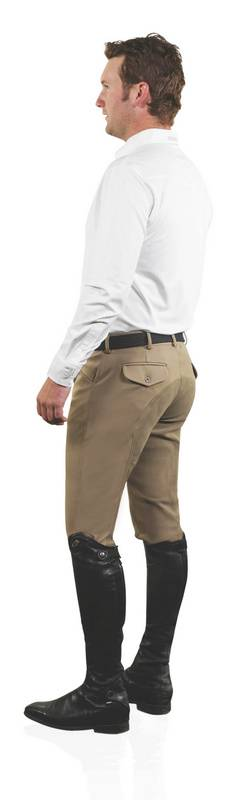 Ovation EuroWeave DX Men's 4-Pocket Front Zip Full Seat Breech
