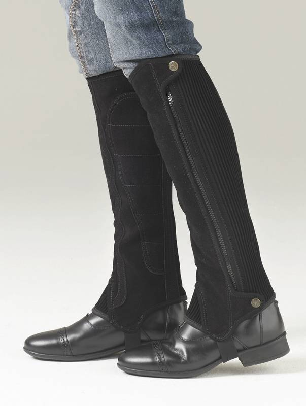 Ovation Precision Fit Suede Half Chaps