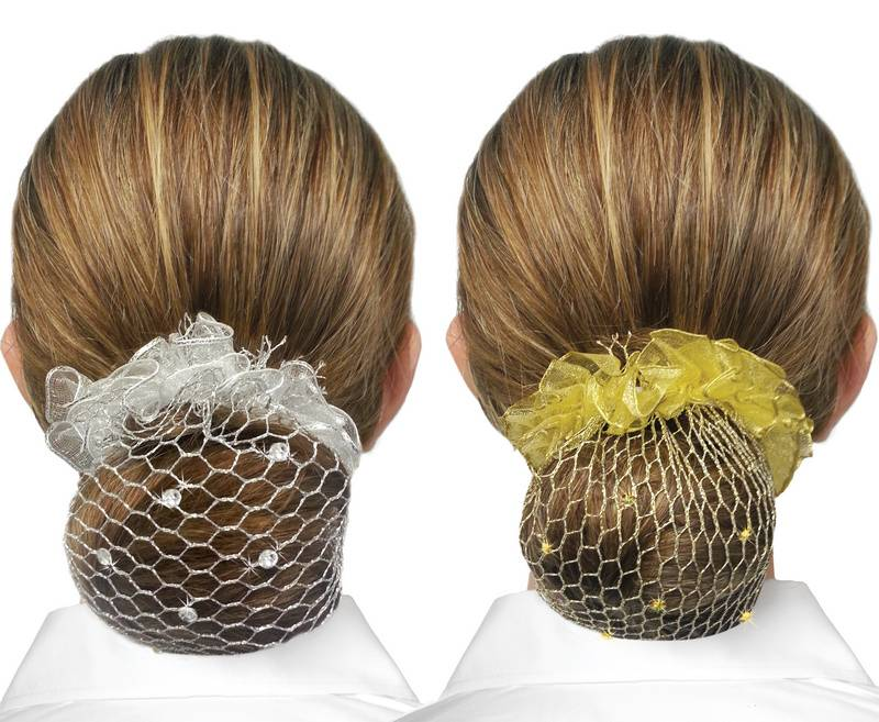 Showquest Bun Net with Swarovski Accents