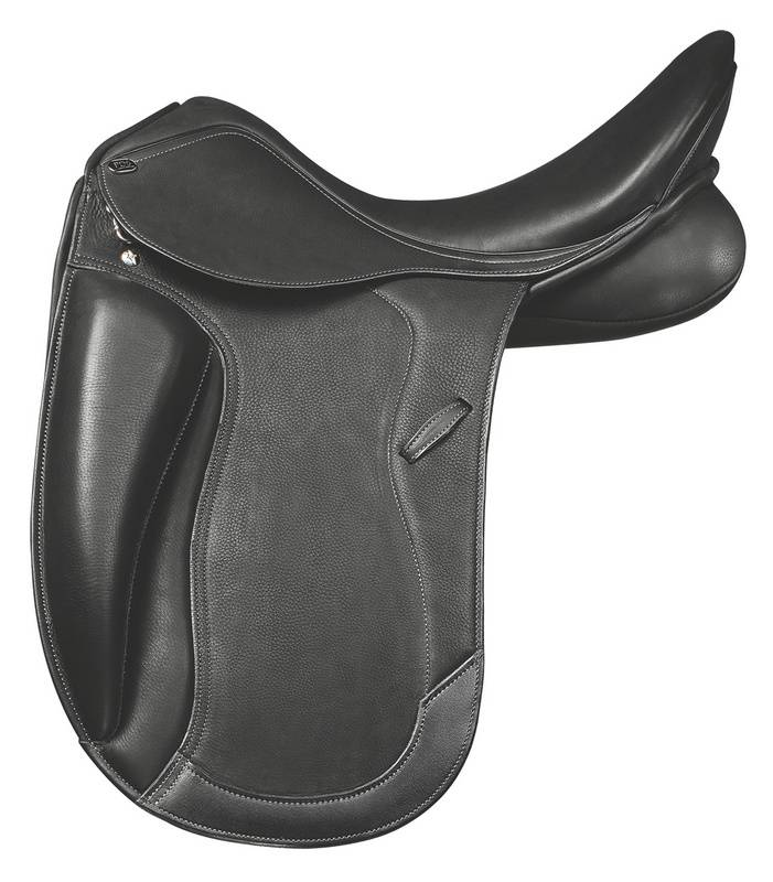 PDS Showtime Monoflap Covered Leather XCH Dressage Saddle