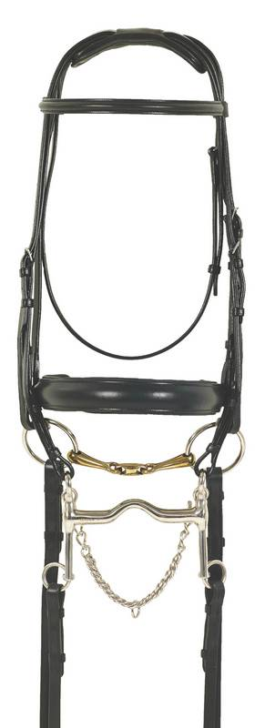 Ovation Europa Euro Dressage Special Double Bridle