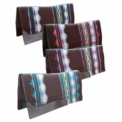 Turn-Two Equine Sidewinder Wool Felt Contour Pad