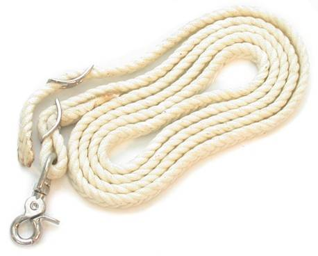 Waxed Nylon Roping/Contest Reins