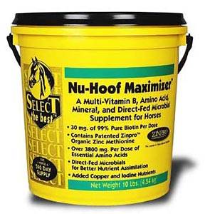 Nu-Hoof Maximizer for Hoof Care