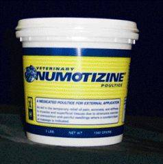 Numotizine Poultice for Temporary Pain Relief