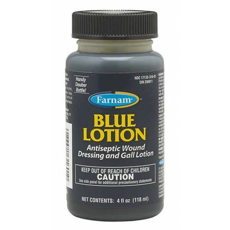 Blue Lotion - Wound Dressing and Antiseptic