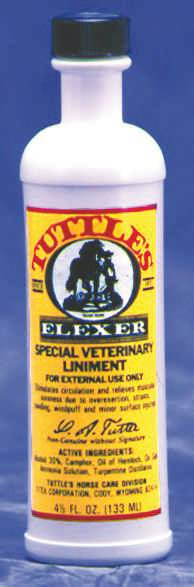 Tuttles Elexer Special Veterinary Liniment