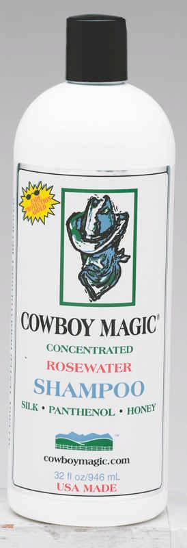 Cowboy Magic Grooming Rosewater Shampoo