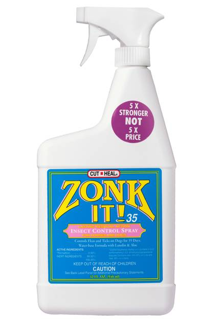 Manna Pro Cut Heal Zonk It 35 Insecticides Sprayer