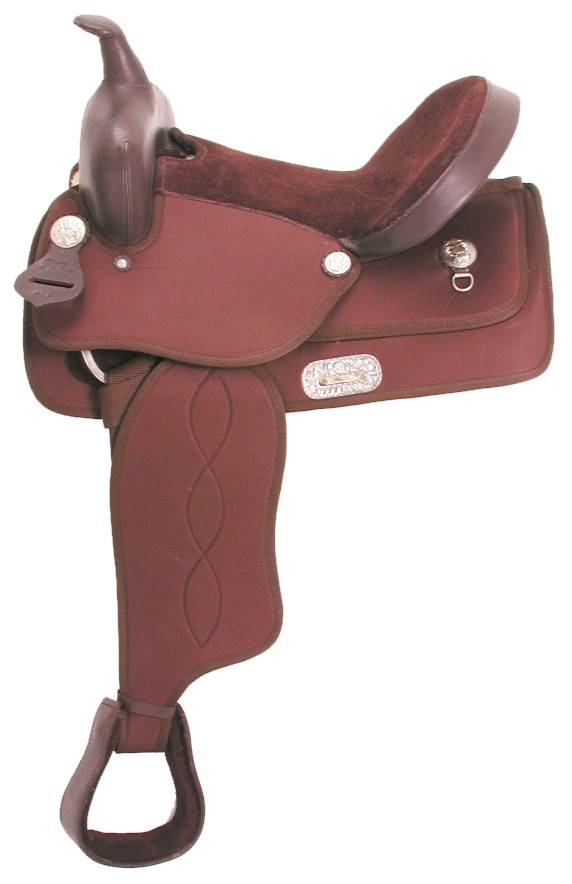 Krypton Synthetic Western Pony Saddle