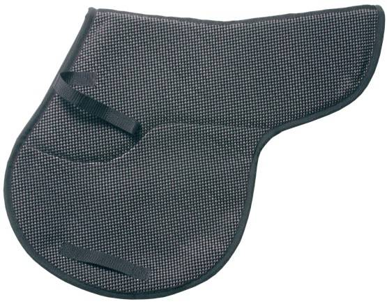 Tough-1 Air Flow Shock Absorber Contoured PVC Saddle Pad