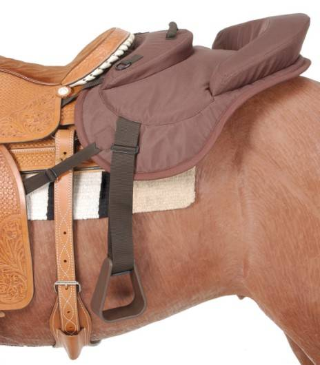 Ride - Behind Tandem Saddle for Western Saddle