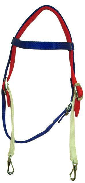 Gatsby Patriotic Nylon Browband Headstall