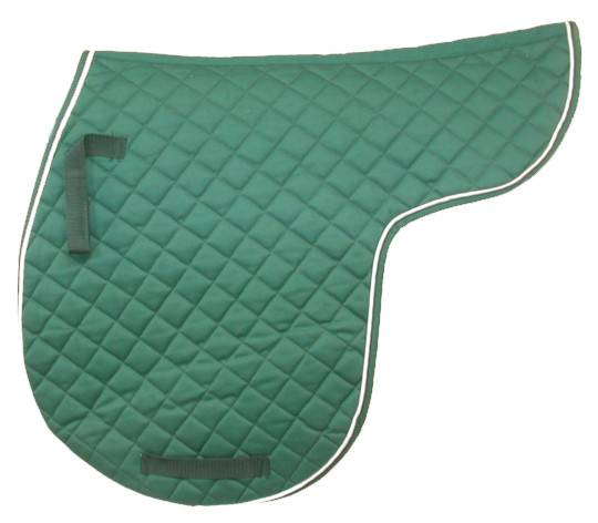 EquiRoyal Contour Quilted Cotton Comfort Saddle Pad