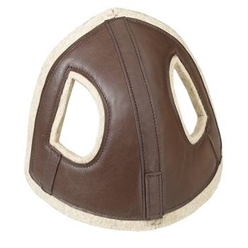 Camelot Horse Head Bumper / Brown