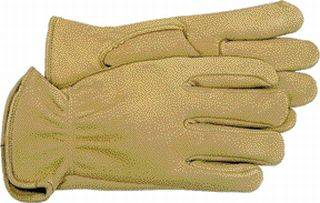 6 Pair - Unlined Deerskin Work gloves