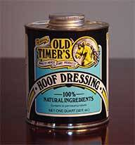 Old Timers Hoof Dress For Horses
