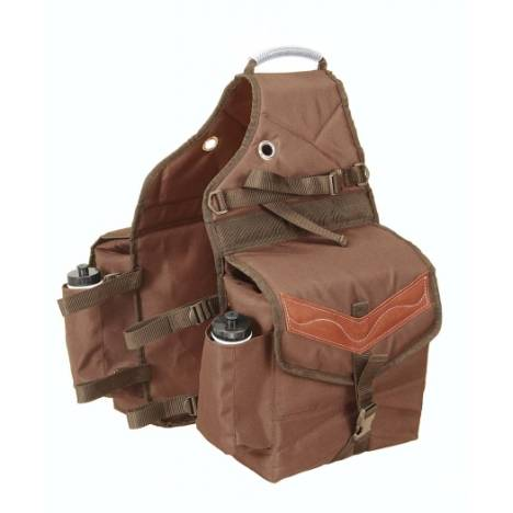 Tough-1 Multi-Pocket Saddle Bag
