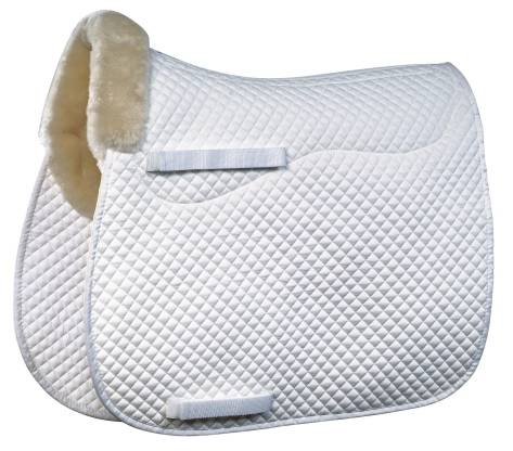 Roma Merino Sheepskin Square All Purpose Saddle Pad