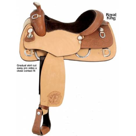 ROYAL KING Jasper Training Saddle